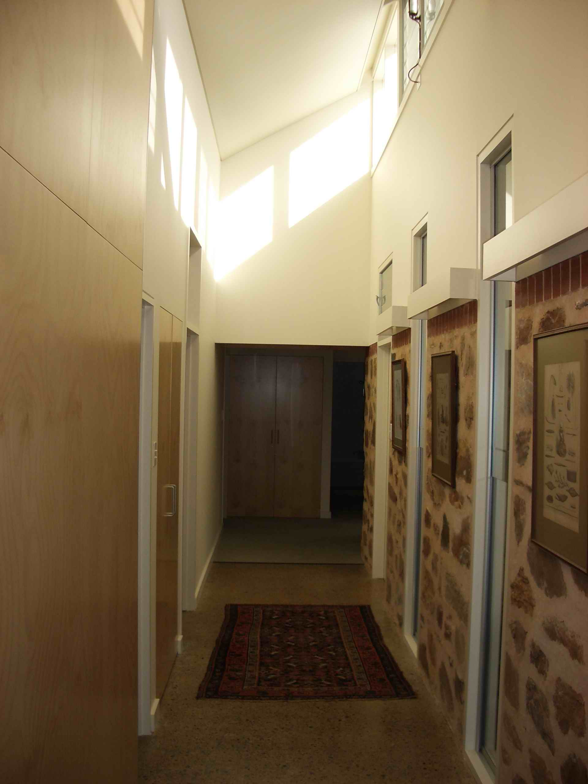 Corridor of Wistow Smart Farmhouse